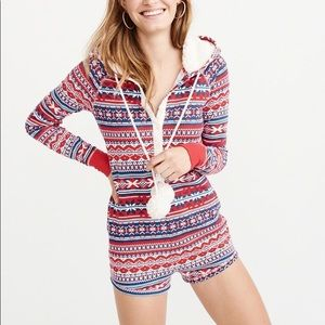 NEW Abercrombie & Fitch Comfy Sleep Romper